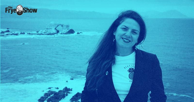 Pamela Chavez Fundadora & CTO de Aguamarina podcast